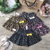 Chân hoa váy kèm quần
