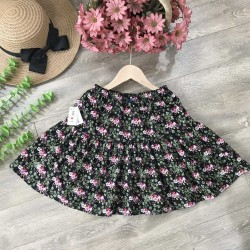 Floral skirt big size for kid-cvd5874-7