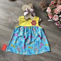 áo 3 lỗ hoa lanh bé gái- A56135-6