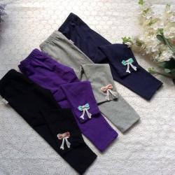 Cotton baby leggings