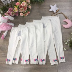 Fish skin leggings - white