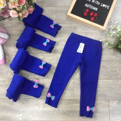 Fish skin leggings -dark blue