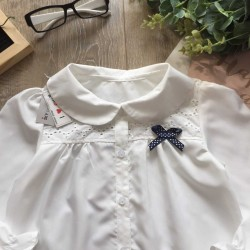 Girls lotus neck shirt size 6 -9