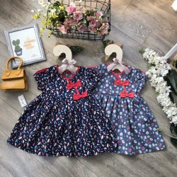 Baby flower dress size 2-6 - v29215