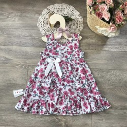 Baby flower dress size 2-6 - V20196