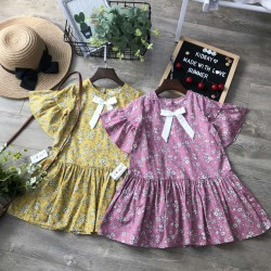Baby flower dress size 4-8 - vc20285