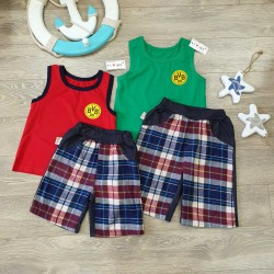 Checkered shorts - Q926