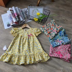 Baby flower dress size 2-6 - v7065
