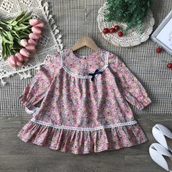 Lace neck dress size 2-6