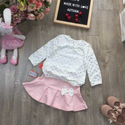 Set shirt with skirt- B10665