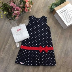 Polka dot dress - v16151214