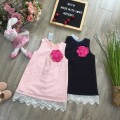 2-layer lace baby dress